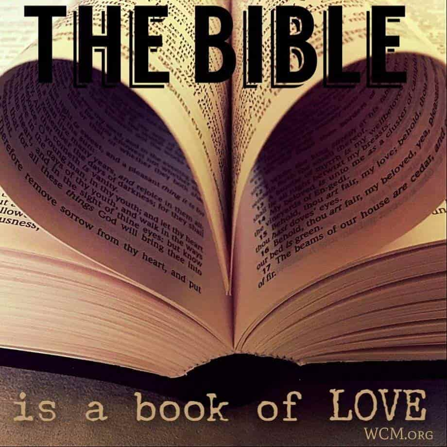 Bible book of love