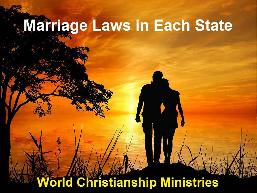 marriage laws each state