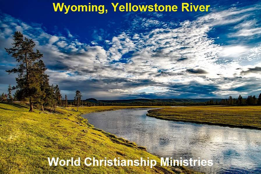 WY yellowshone River