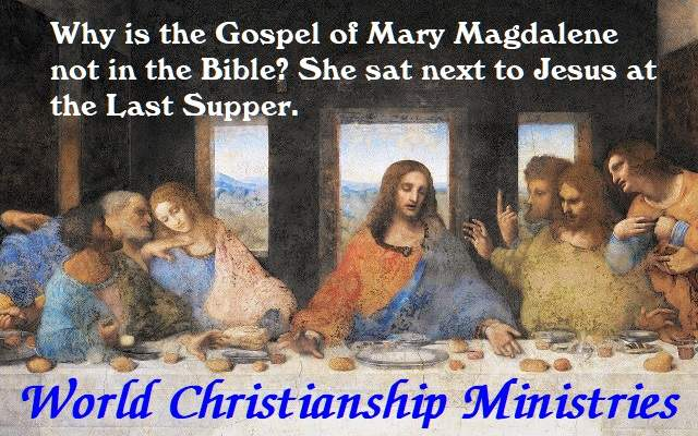 last supper mary magdalene
