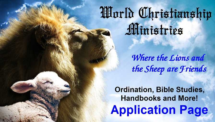 lion and sheep friends, ordination