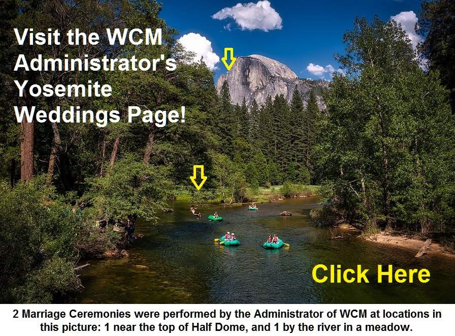 yosemite admin weddings page